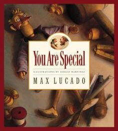 You Are Special is the best children's book I have ever come across... and it's not just for children. Powerful message in the simplest of stories.
