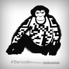 𝚂𝚄𝙿𝙴𝚁 𝙱𝙰𝚁𝙲𝙾𝙳𝙴  #BarcodeArtDesign Barcode Art, Darth Vader, Fictional Characters, Design, Design Comics