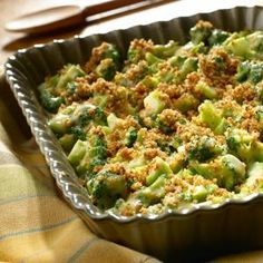 Cheddar Broccoli Casserole | MyRecipes.com