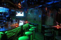 Bar at entrance to Kon-Tiki