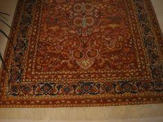 Pintura imitando tapete persa que realizei no piso de um hall - Sueli Pessoa - Plick Ateliê