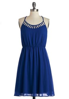 On Your Lunch Break Dress. As you make your way to the restaurant in this cobalt dress, you find theres quite a skip of excitement in your step! #blueNaN