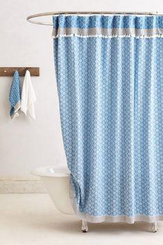 Tasseled Dayton Shower Curtain - Anthropologie.com