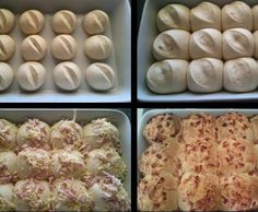 Recipe Cheese & Bacon Bread Rolls - Thermomumma by _b_e_v_ - Recipe of category Breads & rolls