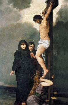 """""""""""I have been crucified with Christ; and it is no longer I who live, but Christ lives in me; and the life which I now live in the flesh I live by faith in the Son of God, who loved me and gave Himself. Jesus Christ Painting, Jesus Art, Religious Images, Religious Art, Catholic Art, Catholic Store, Pictures Of Jesus Christ, Our Lady Of Sorrows, Crucifixion Of Jesus"""