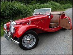 #1954 #MG TF #Roadster
