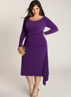 Mor Elbise Modelleri - http://www.bayanlar.com.tr/mor-elbise-modelleri/