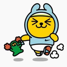 인조이 더 런 나이키 카카오프렌즈 무료이모티콘 : 네이버 블로그 Kakao Friends, Gif 2, Funny Friends, Funny Stickers, Emoticon, Cute Designs, Tweety, Animation, Wallpaper