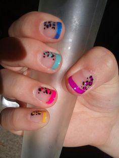 Meg's rainbow leopard!