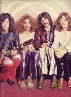 Led Zep, early days... before plant grew into his hotness