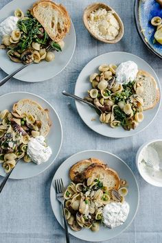 This spring pasta primavera is loaded with tender spring herbs and vegetables. It is a tried-and-true weeknight dinner recipe the entire family loves.