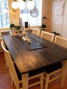 Uutta Vanhaa Lainattua: Keittiön pöytä