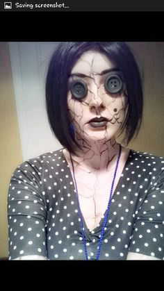 The other mother cosplay. #coraline tim Burton