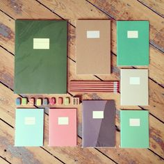 In Store: Selection of Stationary and Notebooks  AK - beautiful layouts of product available to draw you in