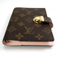 LOUIS VUITTON Monogram Koala Agenda PM Pink