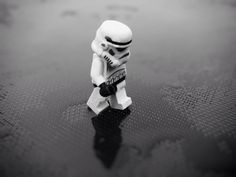 This is just so sad... Poor Stormtrooper #Starwars #Storntrooper #Lego