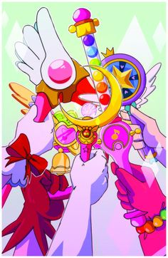 Sailor moon mew mew power star against the forces of evil Sakura cards captor doremi All Anime, Anime Love, Anime Art, Mew Mew Power, Ojamajo Doremi, Mermaid Melody, Tokyo Mew Mew, Card Captor, Sailor Moon Art