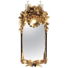 Pegasus Objet Trouve Mirror | From a unique collection of antique and modern pier mirrors and console mirrors at https://www.1stdibs.com/furniture/mirrors/pier-mirrors-console-mirrors/