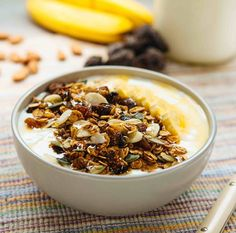 Fig and honey toasted muesli