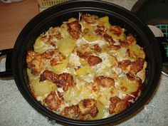 Baked Chicken, Chicken Recipes, Cooking Equipment, One Pan Meals, Blue Cheese, Hawaiian Pizza, Cauliflower, Macaroni And Cheese, Slow Cooker