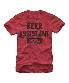 45dab1bfb34 Look what I found on  zulily! Red  Beer Assistant  Tee - Men s