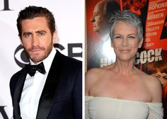 Famous Godparents Jake Gllenhaal has a famous godparent too, Jamie Lee Curtis is his godmother