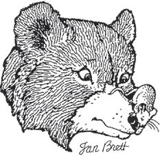 coloring pages and the mitten - photo#7