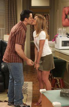 Friends ~ Episode Stills ~ Season 10, Episode 1: The One After Joey and Rachel Kiss #amusementphile