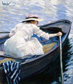 Edward Cucuel (1879–1951) - On the Lake