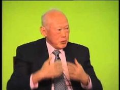 ▶ Lee Kuan Yew on Singapore leadership,strength of institutionalization and geopolitical inter relation - YouTube