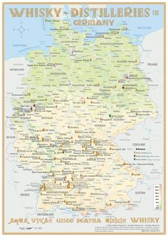 Whisky Distilleries Germany