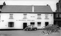 Photo of Bovey Tracey, The Cromwell Arms Hotel Motel, Devon, Old Photos, Arms, England, Mansions, House Styles, Outdoor Decor, Home Decor