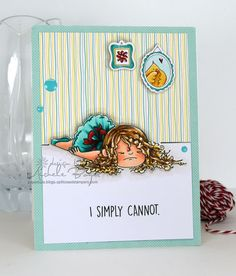 I simply cannot (stamping bella)