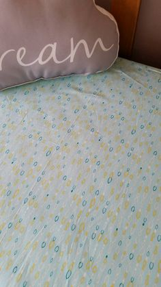 Cot fitted sheet  beige mini gingham  size 60 x 120 x 25 cm