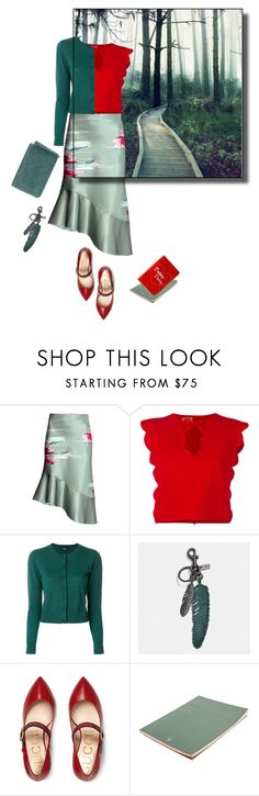 """""""Are You The One That I've Been Waiting For?"""" by ms-wednesday-addams ❤ liked on Polyvore featuring Giambattista Valli, Paule Ka, Coach, Gucci and HOBO"""