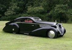 Rolls Royce Phantom I 1925 Coupe Jonckheere - Des Voitures Vintage Rolls Royce, Old Rolls Royce, Rolls Royce Cars, Bugatti, Lamborghini, Ferrari, Alter Rolls Royce, Vintage Cars, Antique Cars