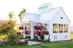 Gardening Potting Shed / Greenhouse Inspiration.