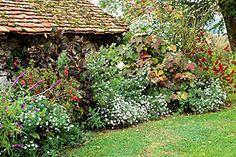 Rustica.fr - Fleurir les abords de la maison en automne  Voici 8 idées pour composer un décor bien fleuri tout l'automne… et parfois plus !