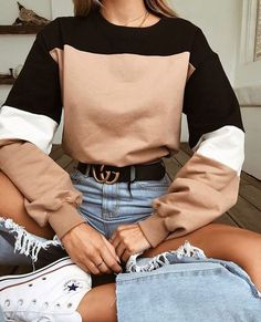 Street Style Summer Looks Summer outfits Mode Outfits, Trendy Outfits, Outfits With Jeans, Casual Outfits 2018, Uni Outfits, Ladies Outfits, Casual Dresses For Teens, Hipster Outfits, Club Outfits