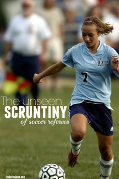 The unseen scrutiny of soccer referees from DrDavidGeier.com