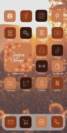 Lion Games, Wallpaper Wallpapers, Purple Aesthetic, Etsy Uk, Icon Pack, Autumn, Fall, App Icon, Custom Photo