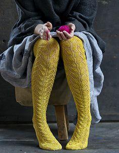 Haapsalu Lace Socks by Tiina Kaarela