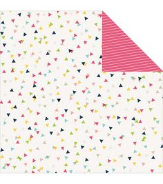 Imaginisce Confetti -Welcome Spring Double-sided Cardstock