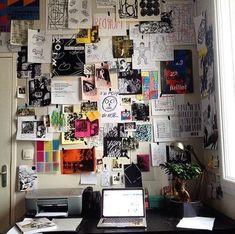 148 dorm room inspiration decor ideas - page 38 ~ Modern House Design College Dorm Organization, Deco Studio, Grunge Room, Cute Dorm Rooms, Room Goals, Aesthetic Room Decor, Room Decor Bedroom, Master Bedroom, 1920s Bedroom