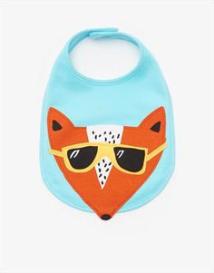 Super awesome Fox bib for babies by Joules. Funky, bright and colourful baby bib. Joules, Unique Baby, Baby Bibs, Baby Wearing, Ss16, Fox, Bright, Babies, Collection