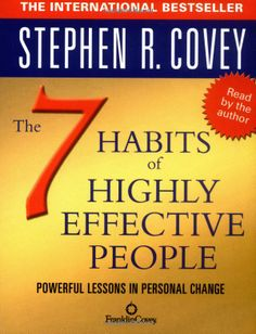 The 7 Habits of Highly Effective People: Stephen R. Covey: 9780743269513: Amazon.com: Books