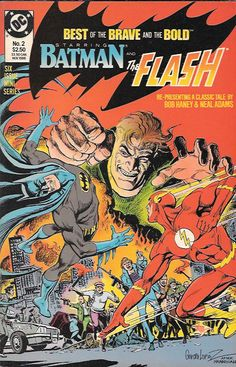 """From Brave & Bold #81, Batman and Flash team up to fight a foe and find out """"But Bork Can Hurt You,"""" by Bob Haney and Neal Adams. Also, the Viking Prince by Joe Kubert (from B&B #5), and Robin Hood by"""