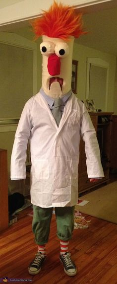 Beaker from Muppet Show - Homemade costumes for adults