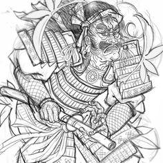 Drawing for tomorrow... #tattoo #tatuaje #samurai #samuraitattoo #irezumi #irezumism #irezumicollective #japan #japanese #japanaseart #japanesetattoospain