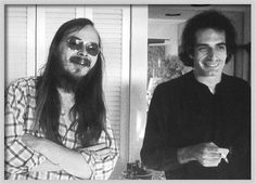 Steely Dan:   Walter Becker and Donald Fagen back in the day